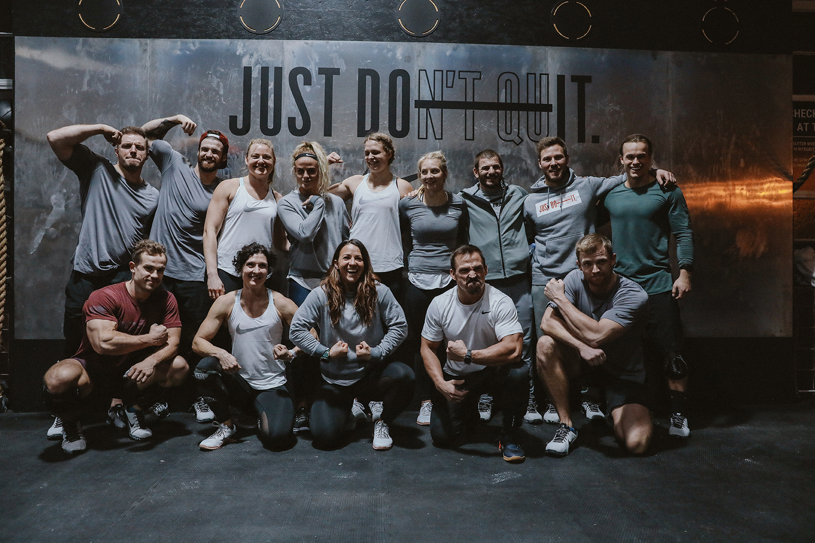 Nike Just don't Quit CrossFit Event in Berlin