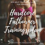Hardcore fatburner Trainingsplan für Frauen