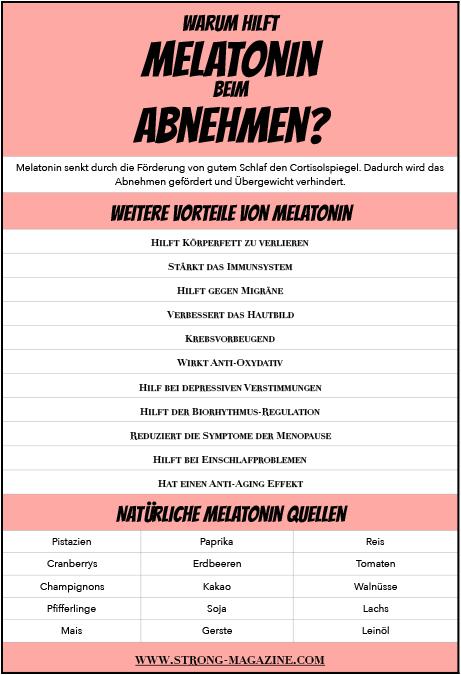 Warum hilft Melatonin beim Abnehmen? Ratgeber & Tipps zur Dosierung