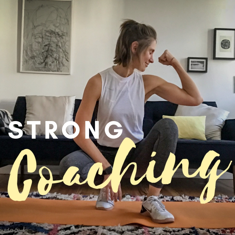 STRONG Coaching - Das 1:1 personal Coachingprogramm mit mir persönlich