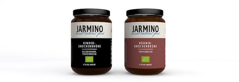 Die Knochenbrühe von Jarmino ist der perfekte kalorienarme ketogene Snack um der Keto-Grippe vorzubeugen.