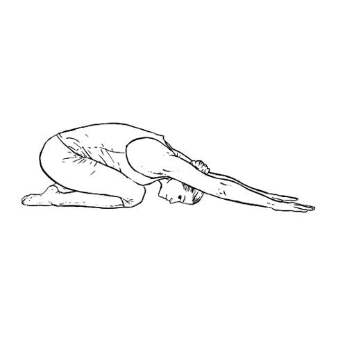 Erweiterte Kindhaltung - Yoga Übungen fürs Büro