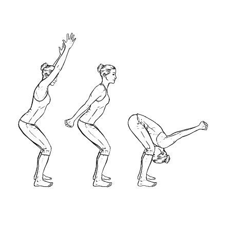 Yoga Übung: Stehendes Yoga-Segel - Yoga Übungen fürs Büro