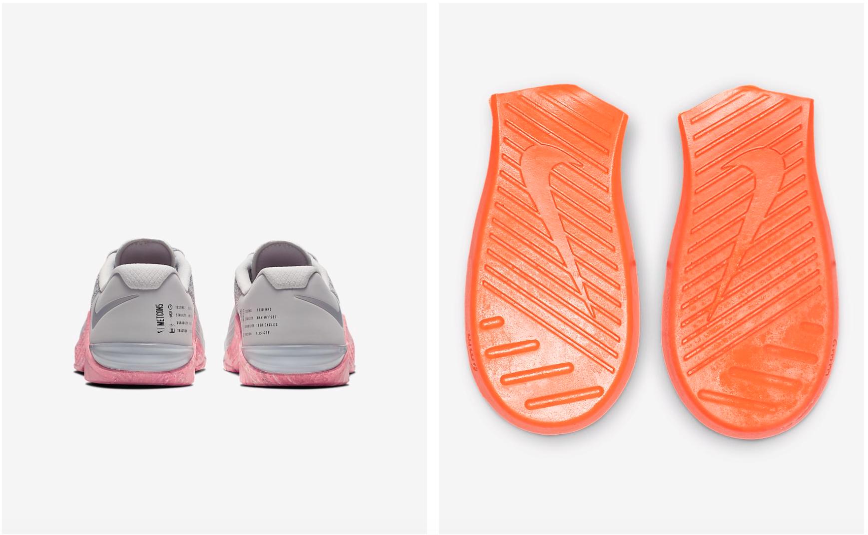 Der Nike Metcon 5 verfügt über eine Einlegesohle für CrossFit Übungen wie Squats, Wall-Balls oder Thruster