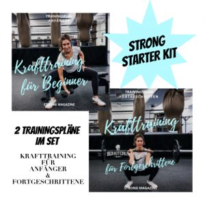 STRONG Starter Kit - Krafttrainingsplan Frauen Anfänger & Fortgeschrittene