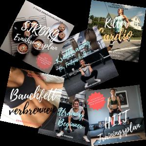 STRONG Starter Kit - das Trainings- und Ernährungsplan Bundle für Frauen die mit Fitness starten wollen