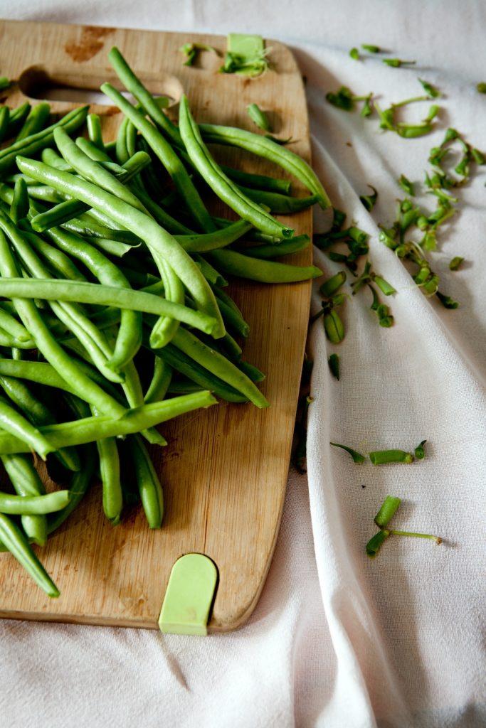 Grüne Bohnen mit Bacon - Ketogenes Rezept