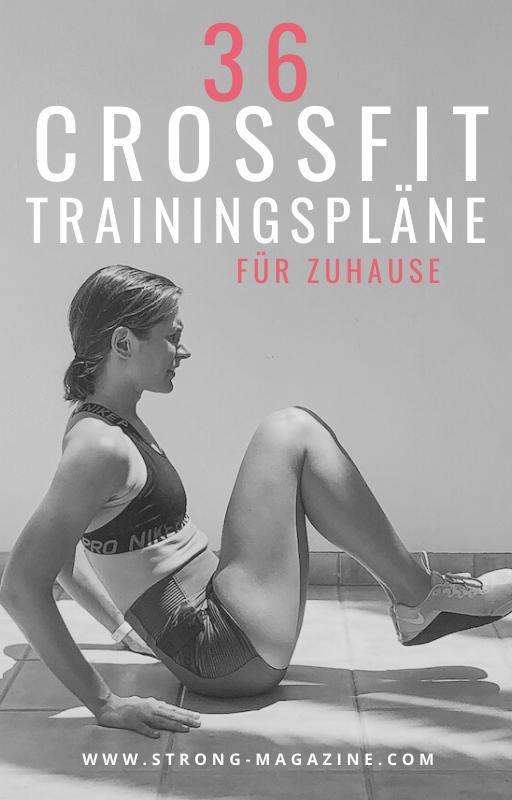 36 CrossFit Trainingspläne für Zuhause für Frauen ohne Equipment