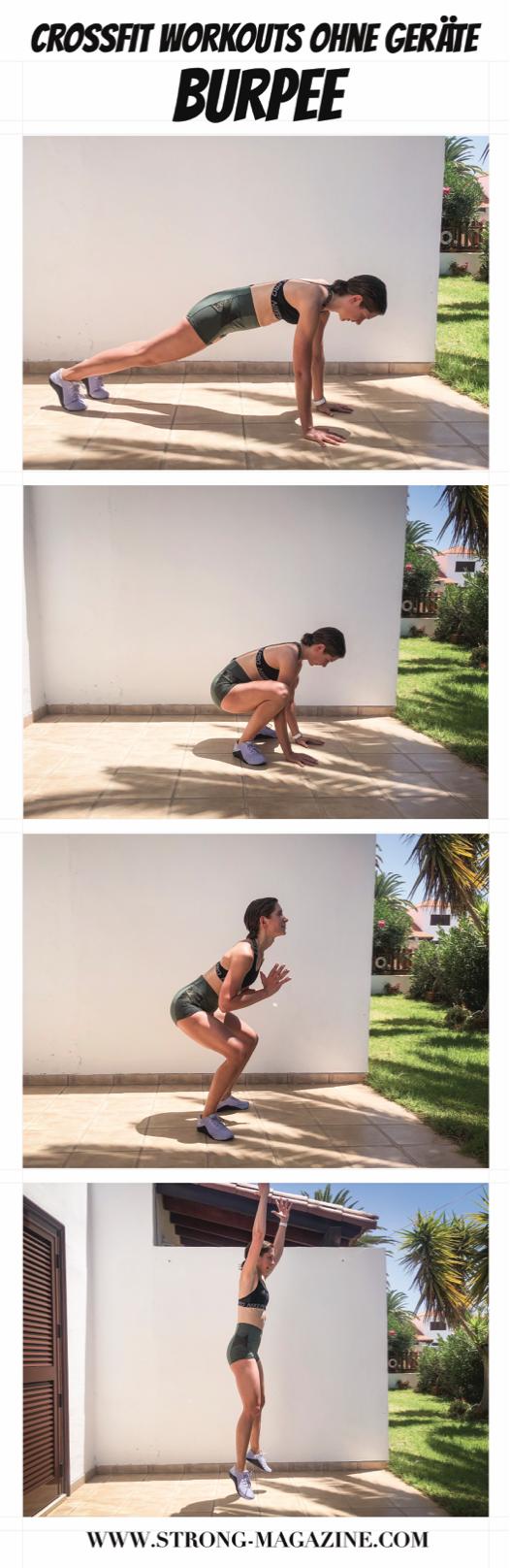 CrossFit Übungen für Zuhause: Burpee - Anleitung