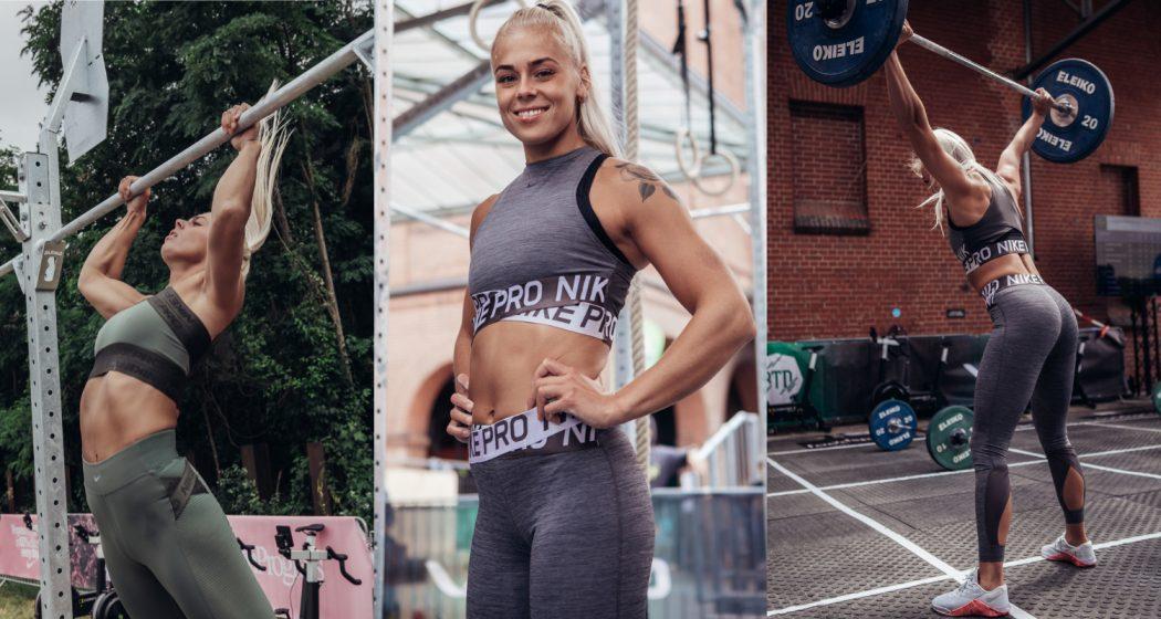 """Nike CrossFit Athlete Solveig Sigurdardóttir im Interview auf dem Berlin Throwdown Event 2019 in Berlin über die """"5 Facettes of Training"""": Mindfullness, Training, Nutrition, Sleep & Recovery"""