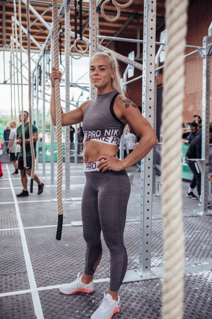 Solveig Sigurdardottir auf dem Berlin Throwdown 2019