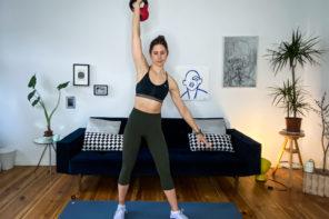 Kettlebell Training - Übungen mit der Kugelhantel für Zuhause