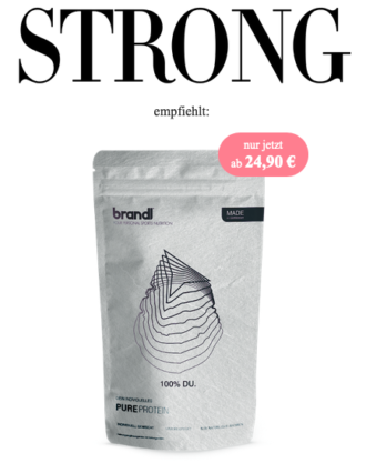 STRONG Proteinpulver made by BRANDL Nutrition