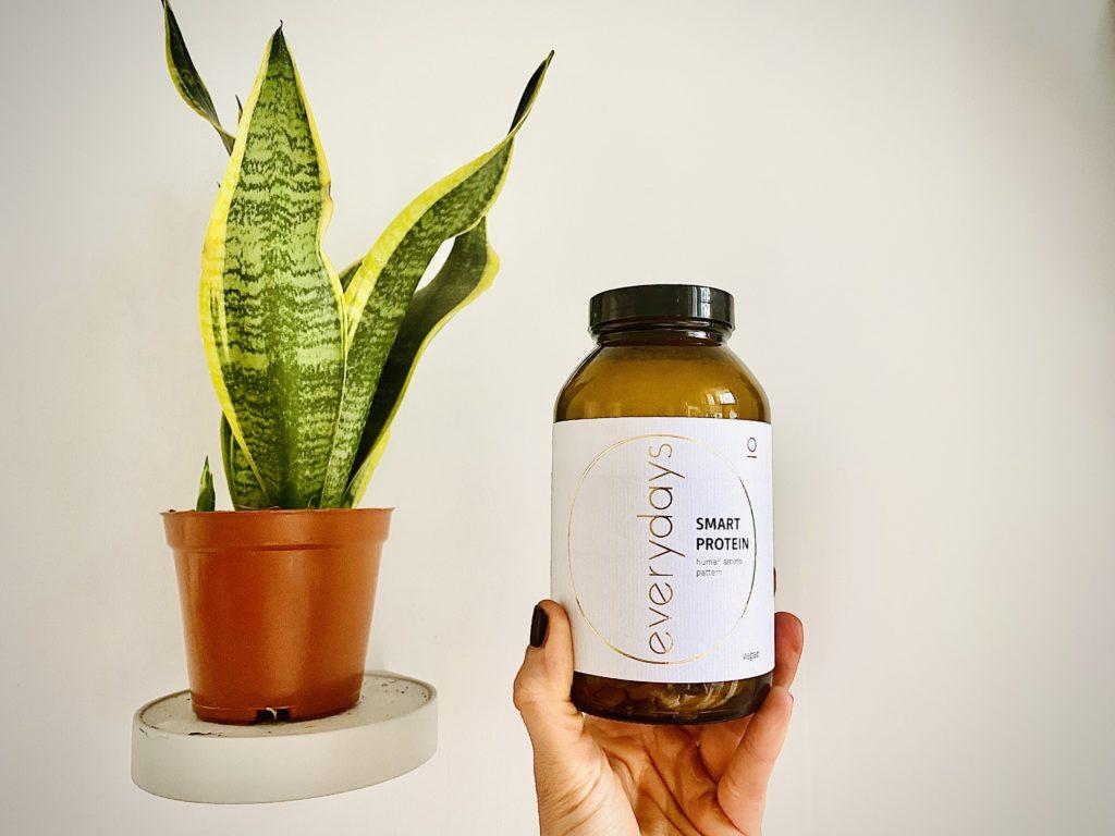 Smart Protein Kapseln von everydays perfekt als Nahrungsergänzungsmittel für die ketogene Ernährung