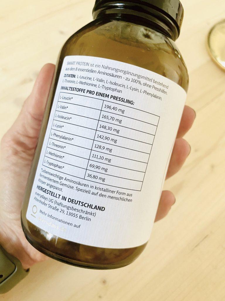 Smart Protein Kapseln von everydays - Protein Supplement für die Keto Ernährung
