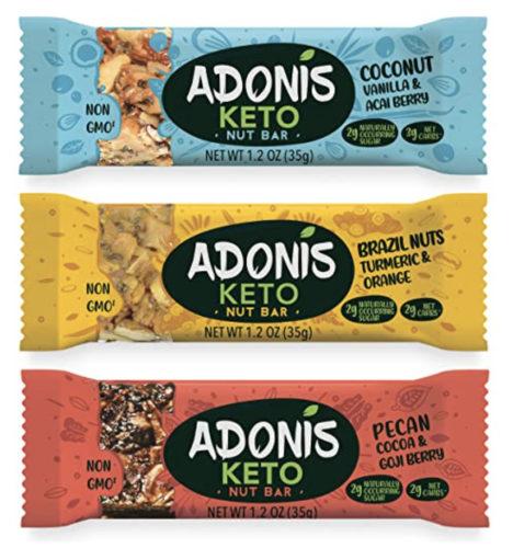 Vegane Keto Süßigkeit - Keto Riegel von Adonis