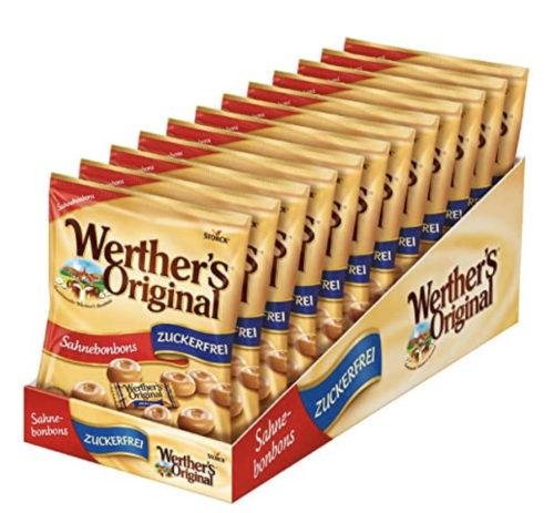 Werthers Original zuckerfrei - ketogene Süßigkeit aus dem Supermarkt