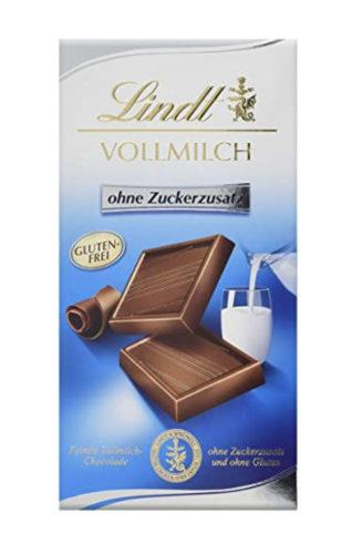 Keto Vollmilchschokolade von Lindt