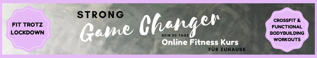 STRONg Game Changer - Online CrossFit Kurs für Zuhause