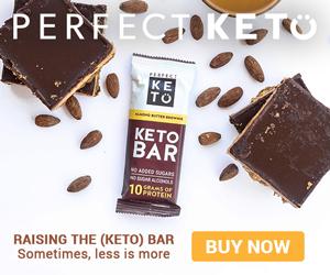 Ketogene Proteinriegel von Perfect KETO - die beste ketogene Süßigkeit