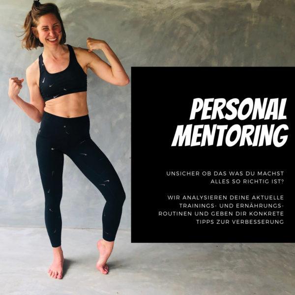 Personal Fitness Mentoing - individuelle Analyse deiner aktuellen Trainings- und Ernährungs-Routinen