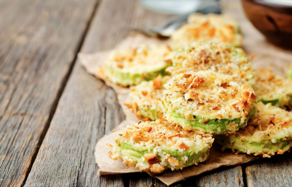 Keto Zucchini Puffer Rezept