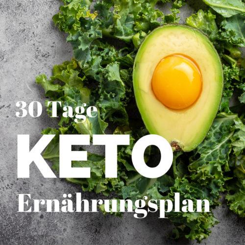 30 Tage Keto Ernährungsplan PDF