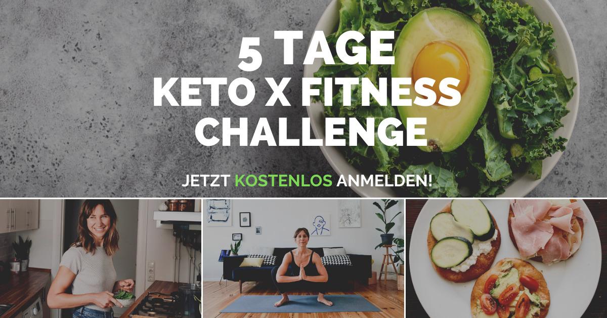 GRATIS 5 Tage Keto x Fitness Challenge