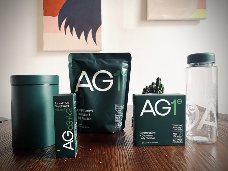 AG1 Pulver by Athletic Greens im Test